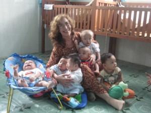 Dorinda and VN Babies